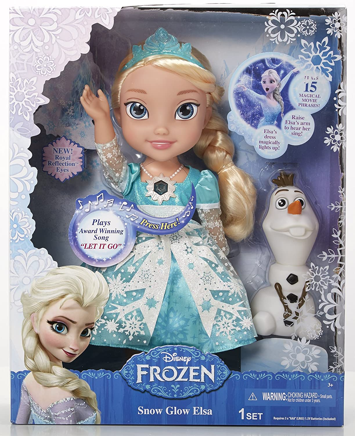 Snow Glow Elsa Singing Doll