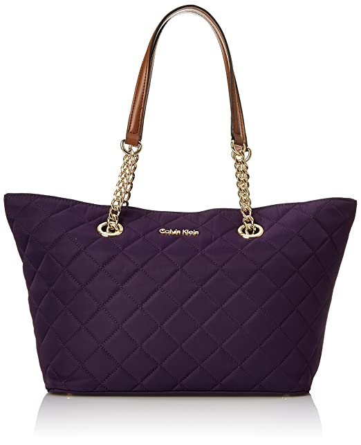 Calvin Klein 2 DX Quilted Nylon Tote Bag - tote bags - tote handbags - handbags for women