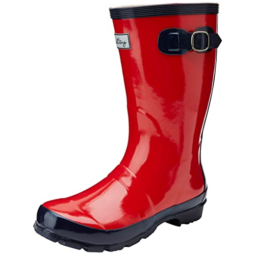 Hatley Little Girls  Little Girls  Splash Rainboots Red