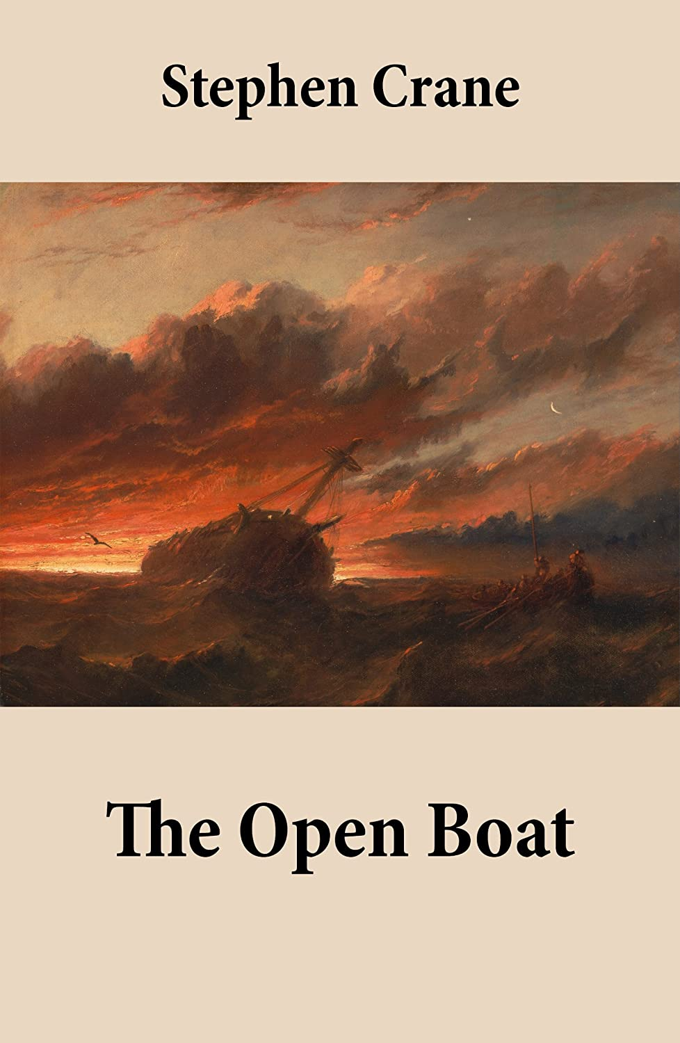 the open boat The theme of the open boat is men battling the sea for safety they boat wrecked and they had to use a tiny boat to try to make it to safety the setting is in the open water of the sea.