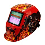 Li Battery+Solar Auto darkening welding helmet/face mask/Electric welder mask/cap for the welding machine (EF9040G, 1) (Color: 1, Tamaño: EF9040G)