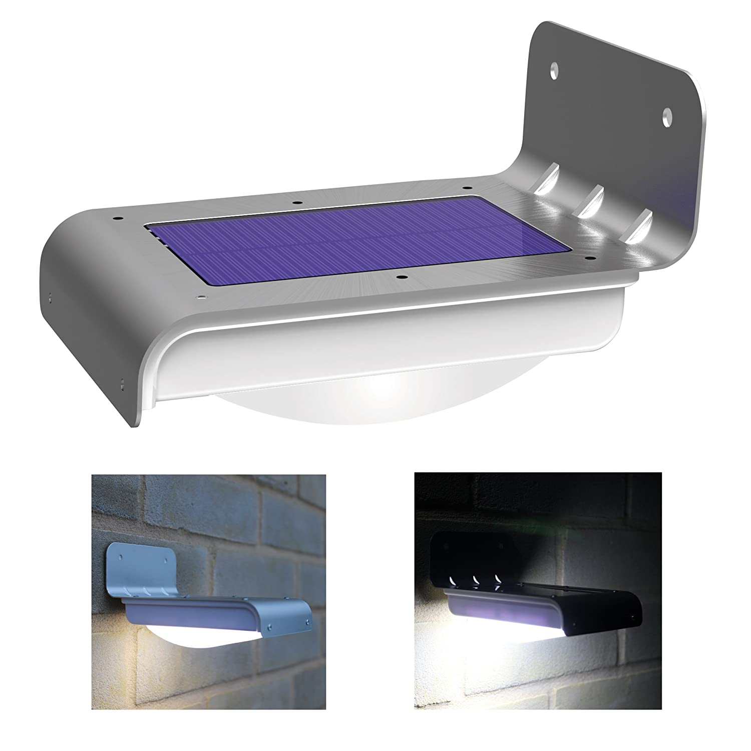 Frostfire 16 Bright LED Wireless Solar Powered Motion Sensor Light (Weatherproof, no batteries required) $19.95