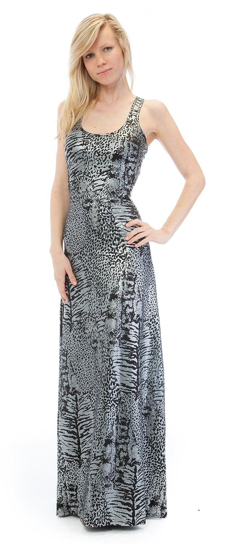 WallFlower Juniors Foil Print Maxi Dress