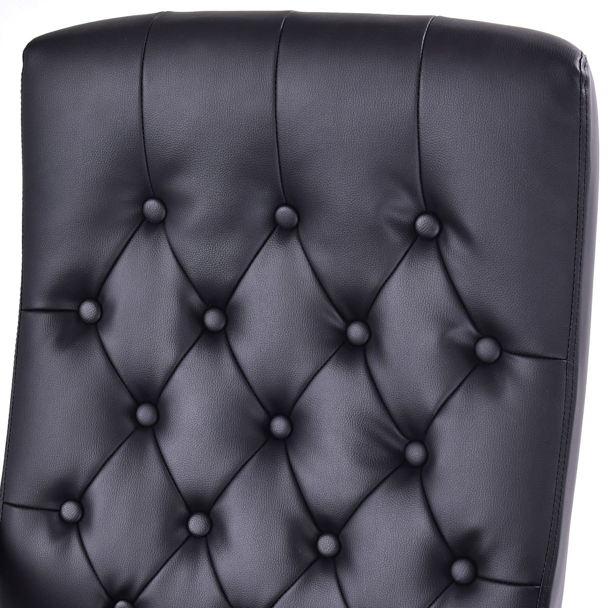 Giantex Ergonomic High Back Traditional Tufted Swivel Office Executive Chair, Black 3