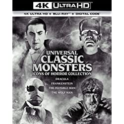 Universal Classic Monsters: Icons of Horror Collection [4K Ultra HD + Blu-ray]