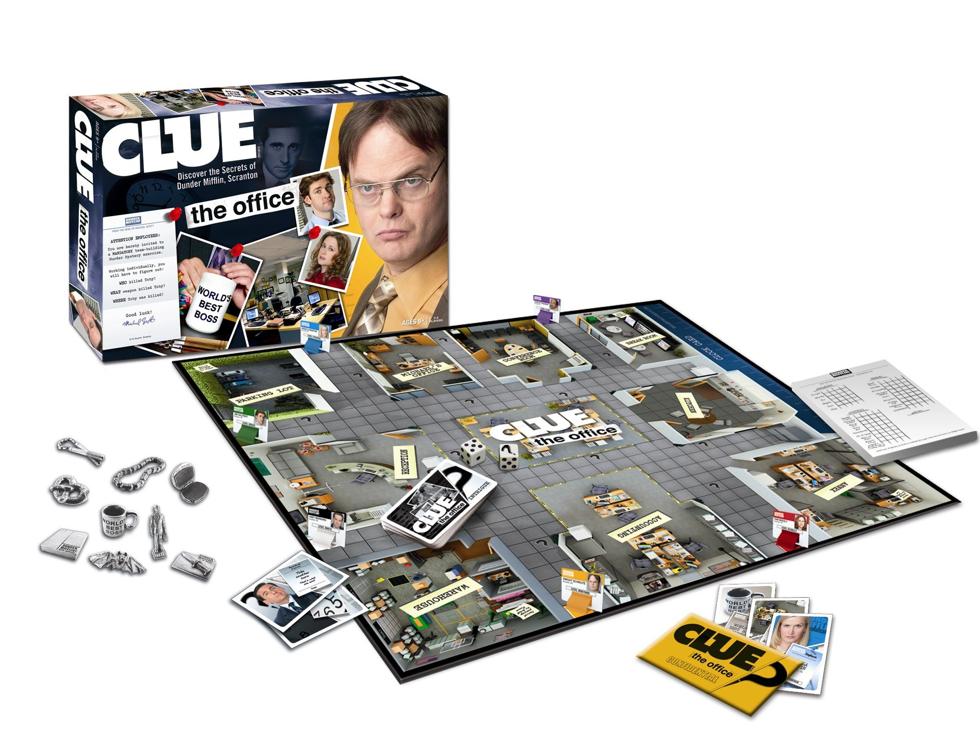 Clue Game Office