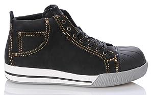 2W4 RedBrick KURT SKATE Stiefel EN345 S3 schwarz Sicherheitsschuhe Sneaker  Schuhe & HandtaschenKundenbewertung und Beschreibung