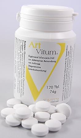 ArtVitum 120 Gelenk-Tabletten (1 Monatspackung) mit naturlichen Gelenkbausteinen
