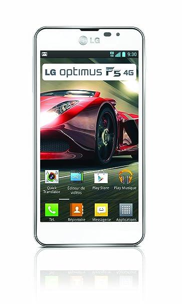 LG Optimus F5 Smartphone débloqué 4G 4,3 pouces 8Go Android 4.1 Jelly Bean Blanc