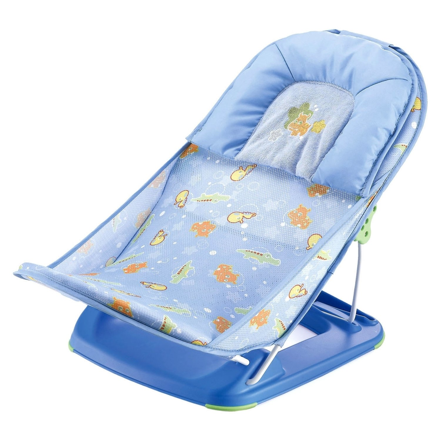Baby bath chairs for the tub - Mastela Deluxe Baby Bather Blue Blue 0m
