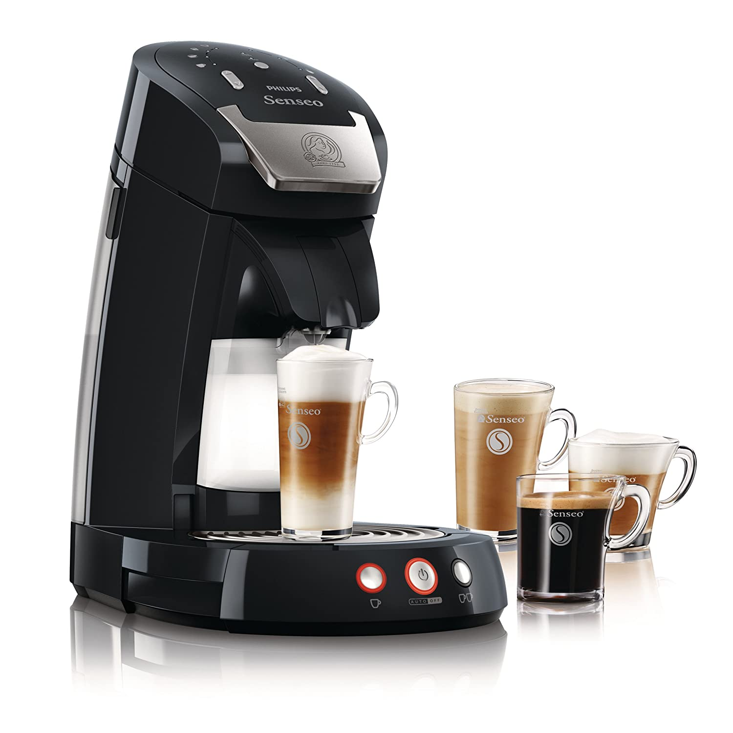philips senseo viva caf hd7825 60 coffee machine with pod system black amazon hotukdeals. Black Bedroom Furniture Sets. Home Design Ideas