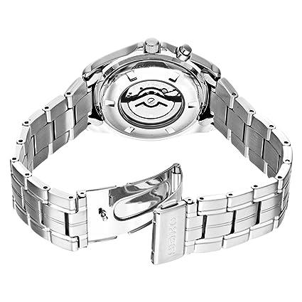 Seiko Men's SMY111 Stainless Steel Kinetic Blue Dial Watch 精工 男士 人动电能腕表-奢品汇 | 海淘手表 | 腕表资讯