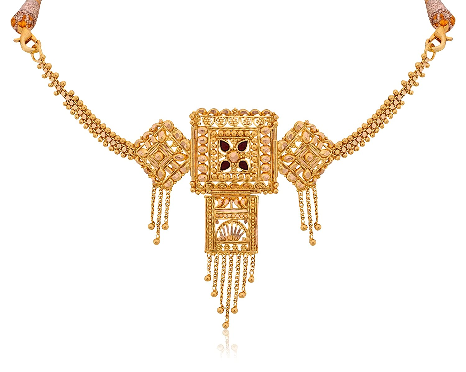 gold chokers necklaces for women