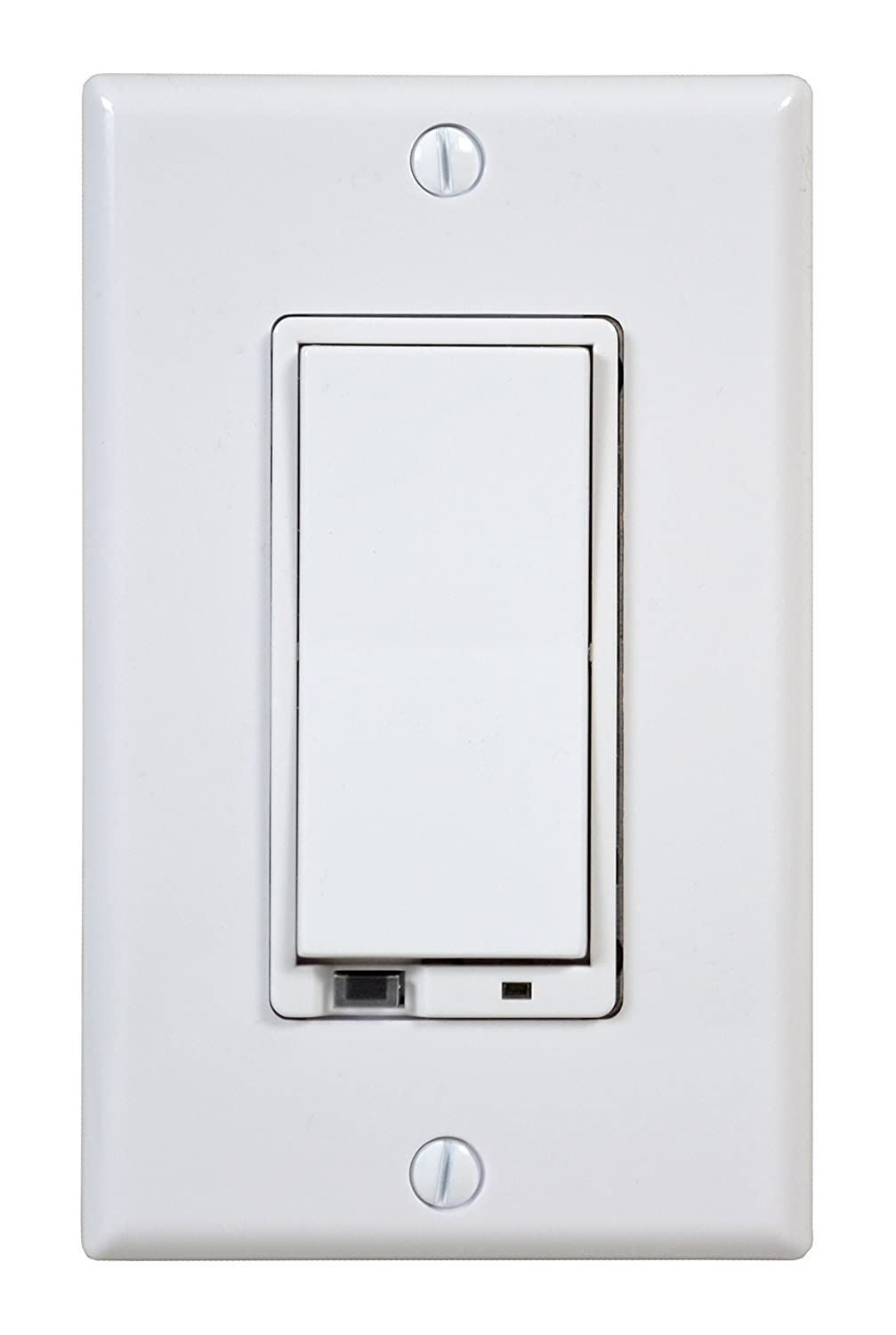linear wd500z 1 z wave 500 watt wall mount dimmer switch small white new fr ebay. Black Bedroom Furniture Sets. Home Design Ideas