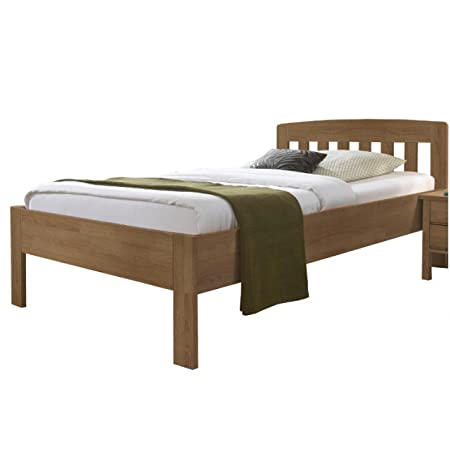 DICO Massivholz-Komfortbett 420.03 Buche Größe: 120 x 200 cm