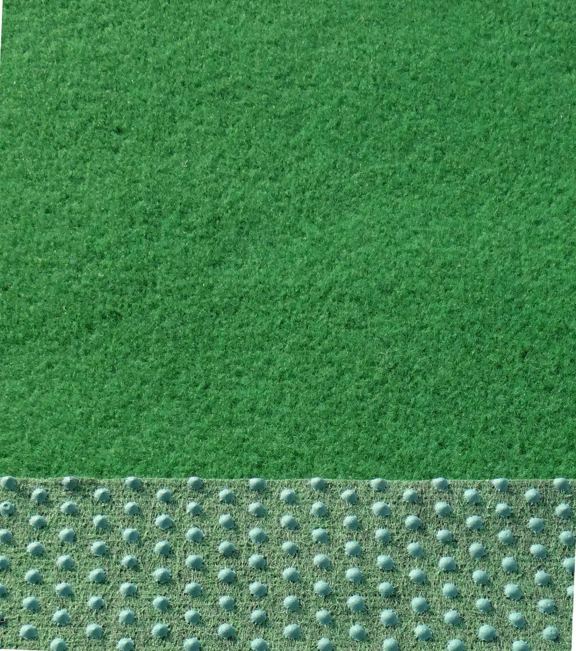 Kunstrasen Rasenteppich mit Noppen angenehm weich Farbe grün in verschiedenen Größen  BaumarktKundenbewertung: