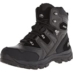 Pacific Trail Mens Denali Hiking Boots - Black or Chocolate