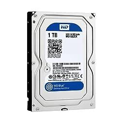WD Blue 3.5inch 7,200rpm 1.0TB 64MBキャッシュ SATA3.0 WD10EZEX/N
