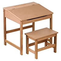 Kids Desk and Stool Set