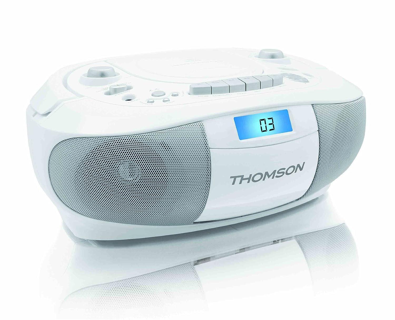 Comparer THOMSON RK300CDU BLANC
