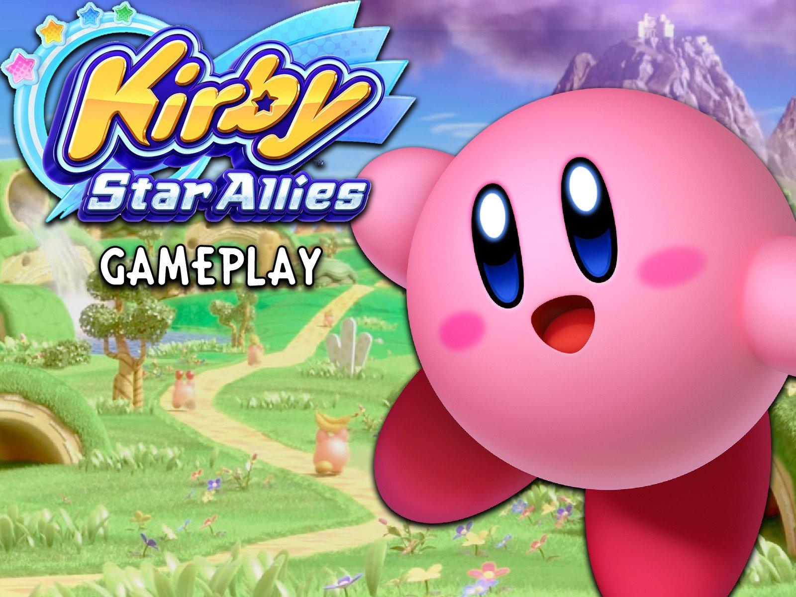 Kirby Star Allies Gameplay - Season 1