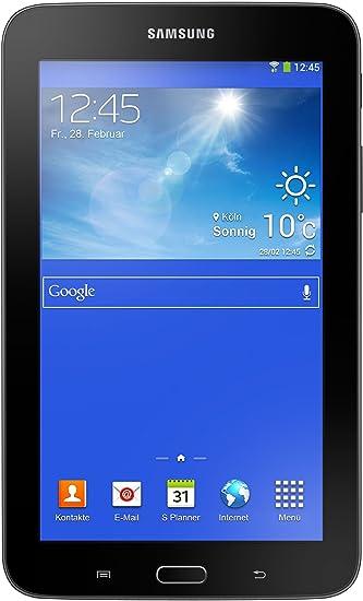 "Samsung Galaxy Tab3 Tablette Tactile 7,0"" (17,78 cm) Noir (Cortex, 1 Go de RAM, 8 Go, Android)"