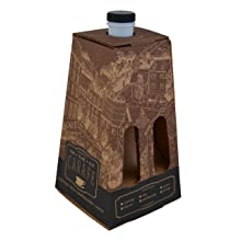"Southern Champion Tray 0196 Corrugated Beverage Carafe, Holds up to 96 oz, 23-7/8"" Length x 20-7/8"" Width x 12-1/8"" Height (Case of 16)"