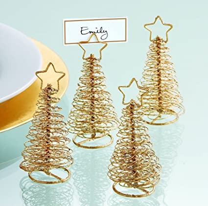 Wire Tree Placecard Holder Set of 4 by Tag