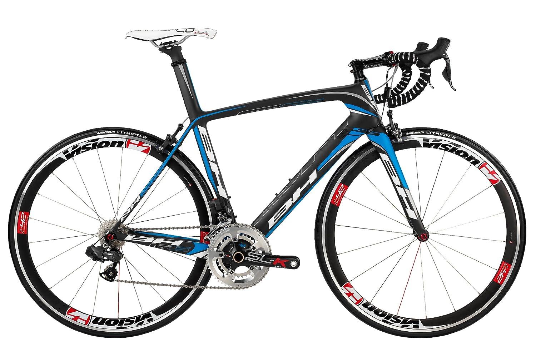 Bicicleta de carreras BH negra. Tamaño 64cm