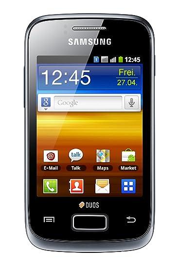 Samsung Galaxy Y Duos Smartphone Android USB 160 Mo Noir