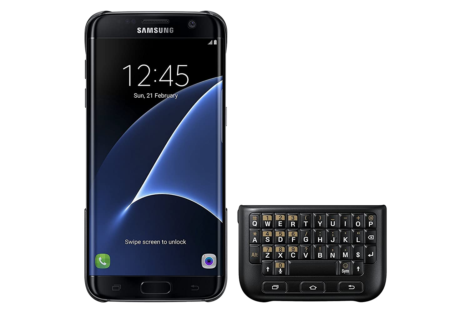 The Samsung Galaxy S7 edge Keyboard Cover