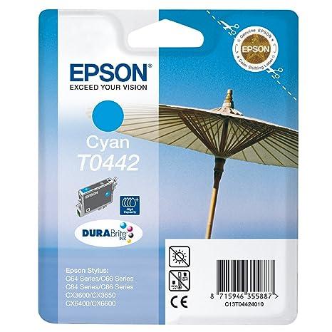 EPSON Cartouche jet d'encre origine DURABrite EPSON Stylus C64, cyan