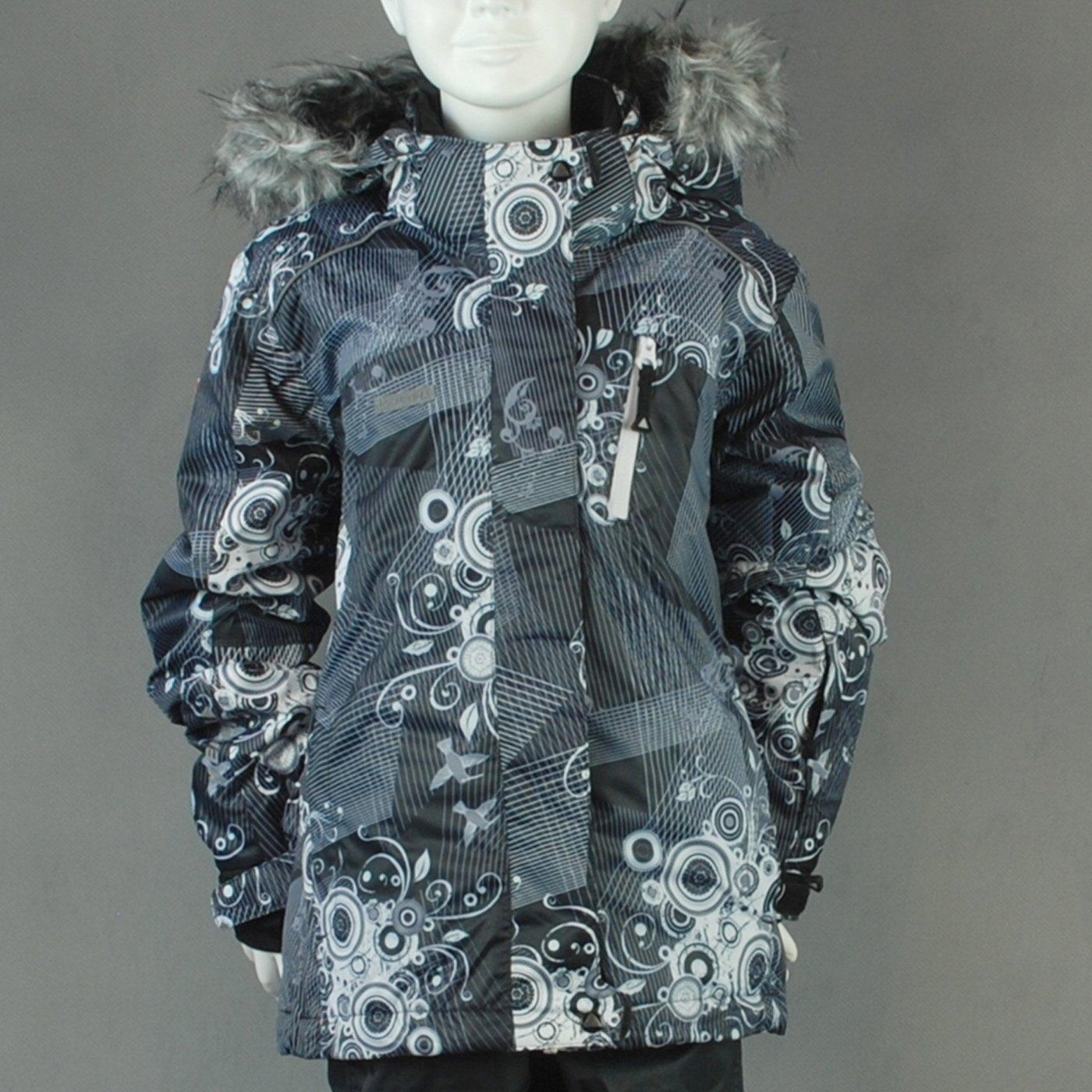 """ICEPEAK """"SANTRA"""" Ski Jacke Mädchen; schwarz; Gr. 128 günstig online kaufen"""