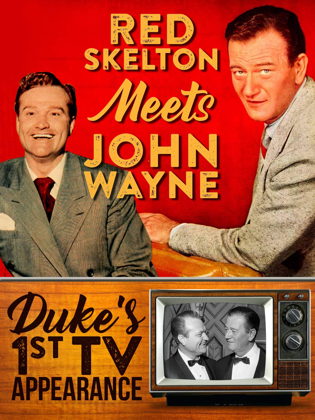 Red Skelton Meets John Wayne - Duke's 1st TV Appearance