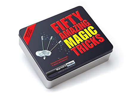 Marvin's Magic - Fifty Greatest Magic Tricks (Cinquante Tour de Magie, livret en anglais)