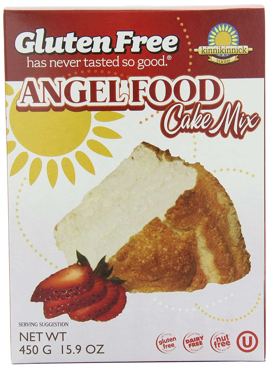 Gluten Free Angel Food Cake Mix