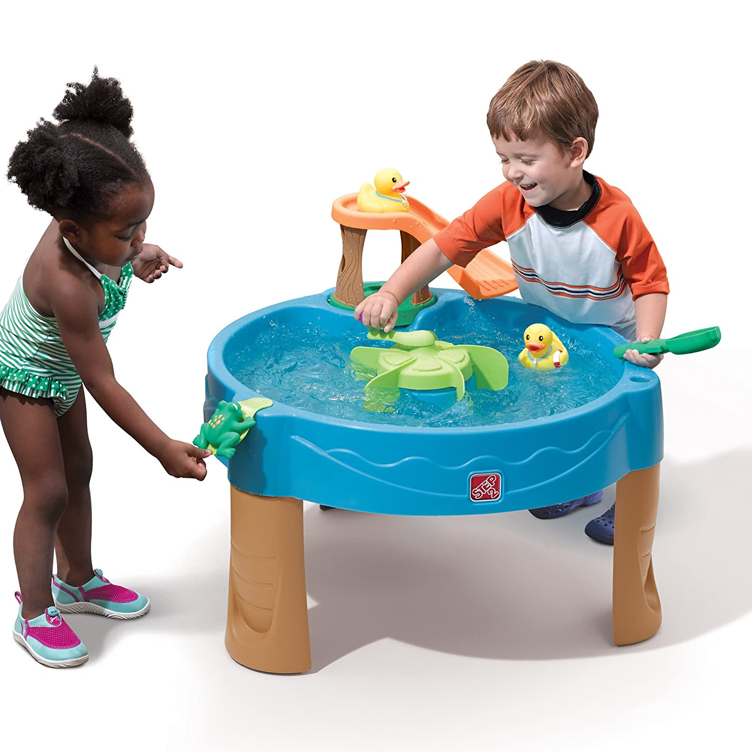 Step2 Kids Water Activity Table Toddler Outdoor Toys ...