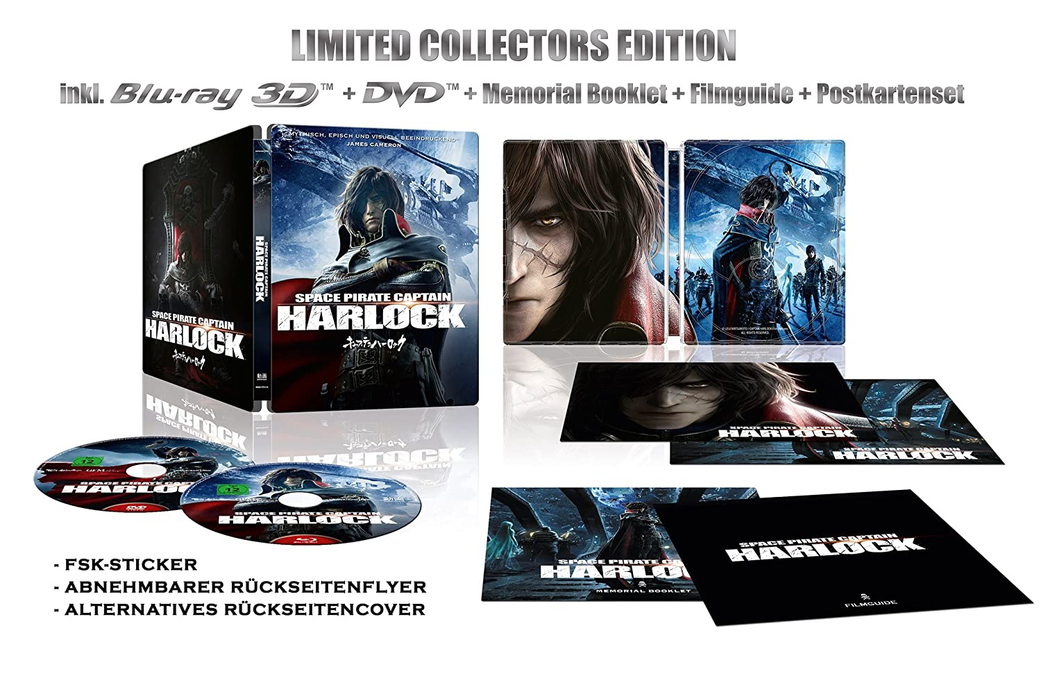Space Pirate Captain Harlock - Limited Collector's Edition