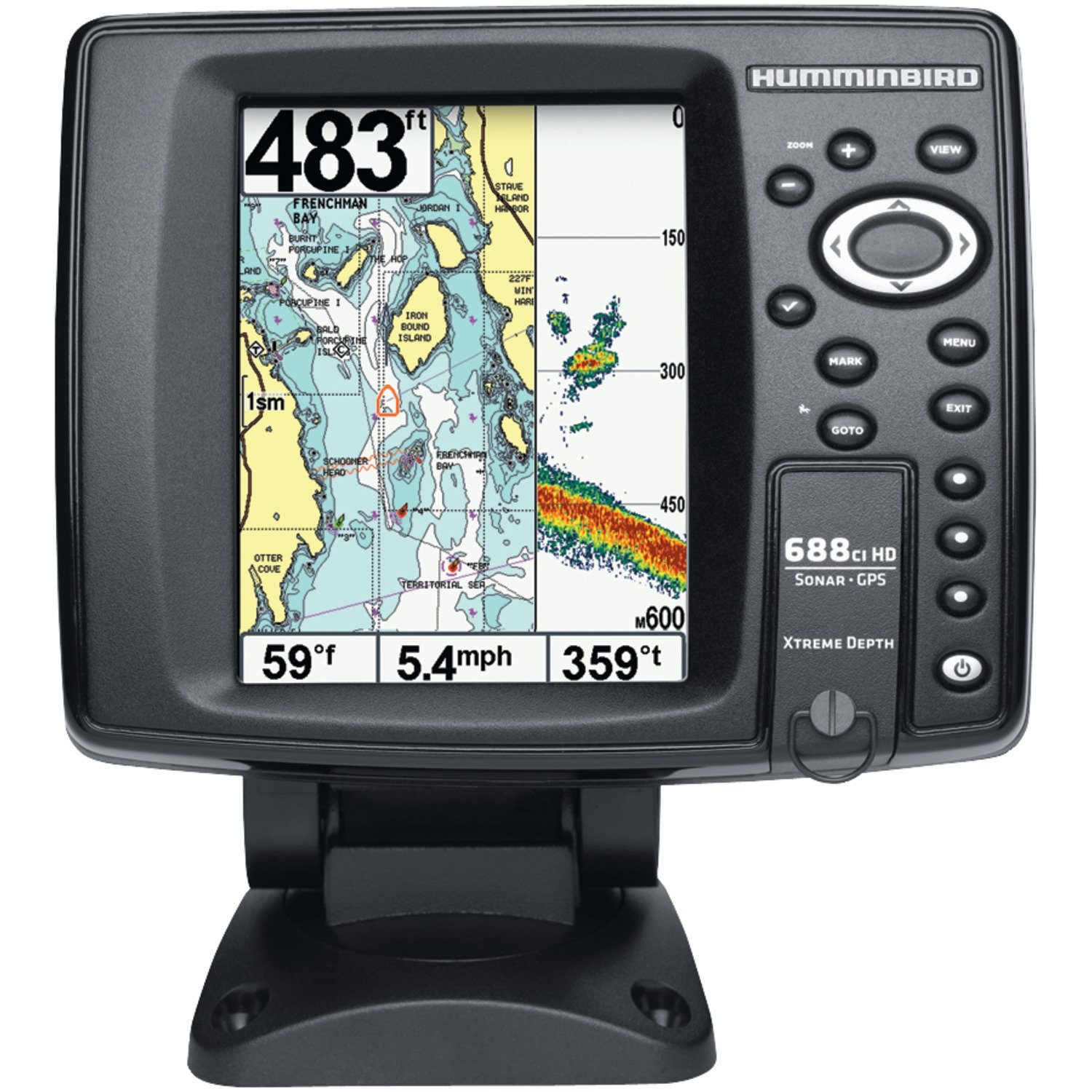 Humminbird 688ci HD XD Internal GPS/Sonar Combo Xtreme Depth Fishfinder купить эхолот humminbird piranhamax 160x