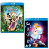 Tangled - Cinderella - Walt Disney 2 Movie Bundling Blu-ray