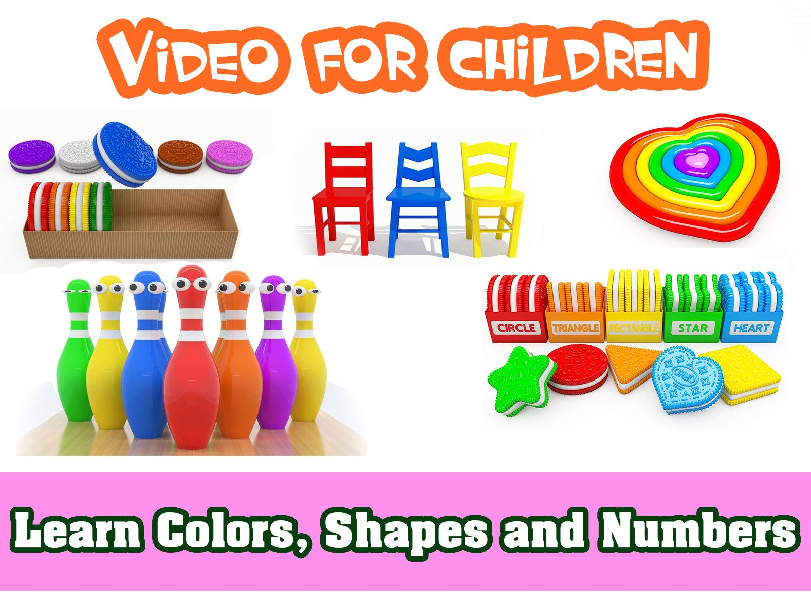 Learn Colors, Shapes and Numbers - Season 2