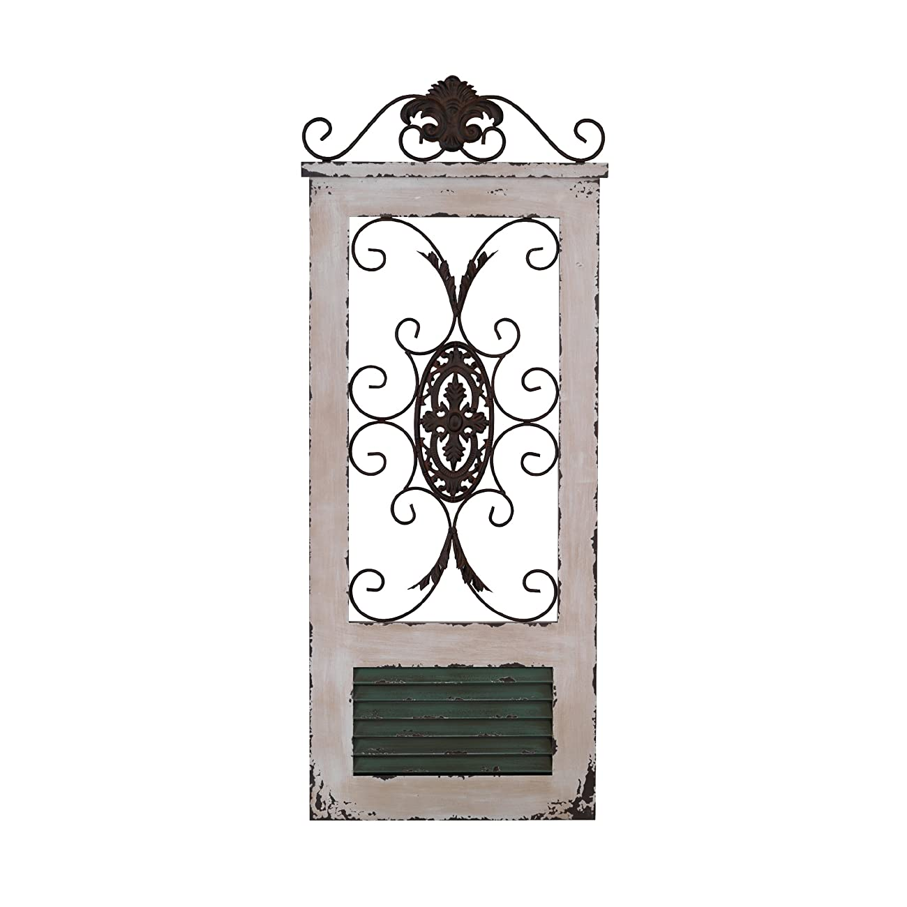 Elements Regal Gate Word and Metal Decorative Wall Decor 0