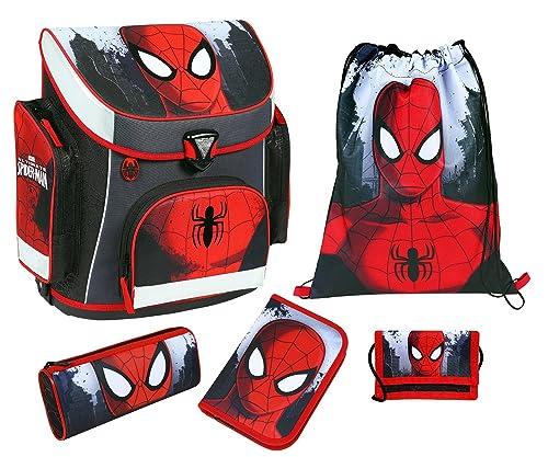 Scooli Schulranzen im Set Campus Plus mit dem Motiv Spiderman