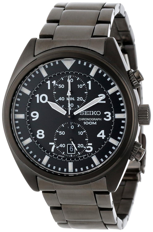 Seiko Men's SNN237P1 Sports Black Chronograph Dial Watch at Sears.com