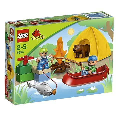 LEGO - 5654 - Jeu de Construction - DUPLO LEGOVille - La Partie de Pêche