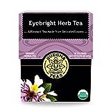 Organic Eyebright Herb Tea - Kosher, Caffeine-Free, GMO-Free - 18 Bleach-Free Tea Bags (Color: Other, Tamaño: Single Pack)