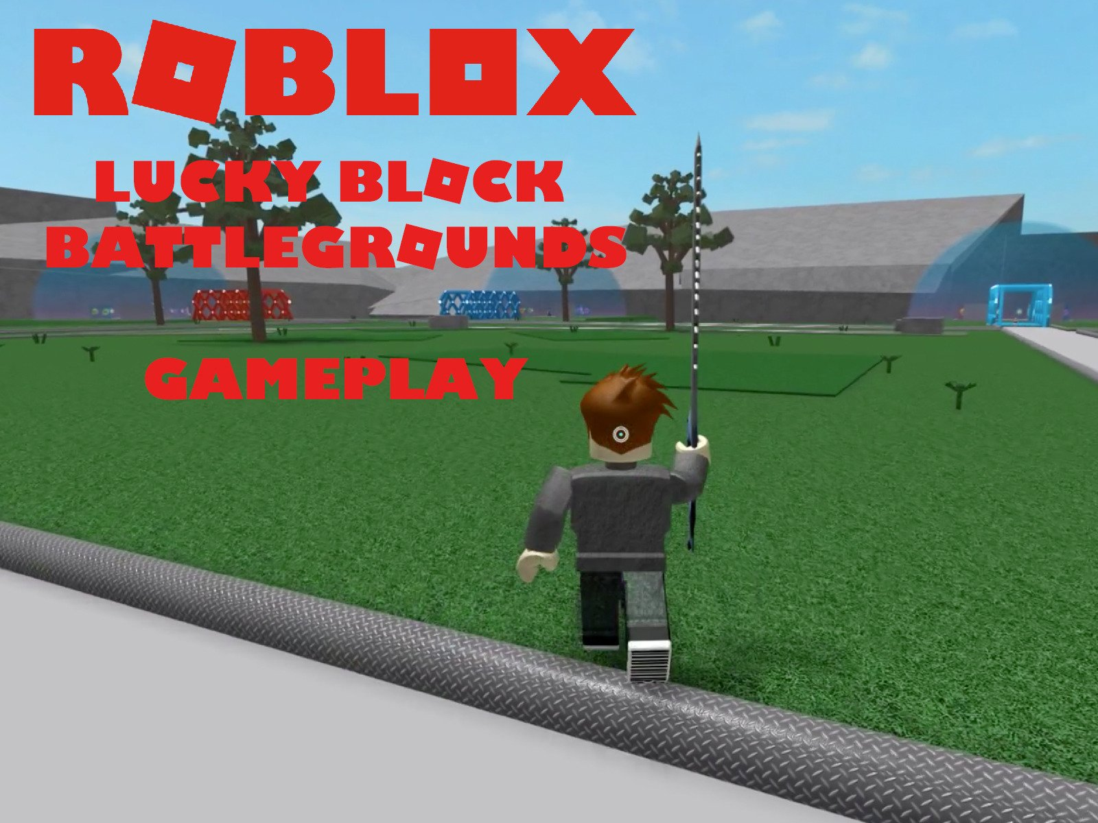 Clip: Roblox Lucky Block Battlegrounds Gameplay