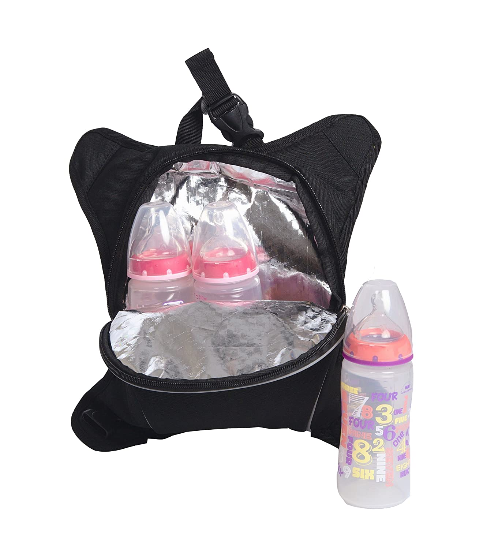 o3bbpca017 obersee bern unisex diaper bag backpack black black ebay. Black Bedroom Furniture Sets. Home Design Ideas