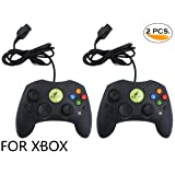 Noa Store 2 LOT NEW Black Controller Control Pad for Original Microsoft XBOX X System