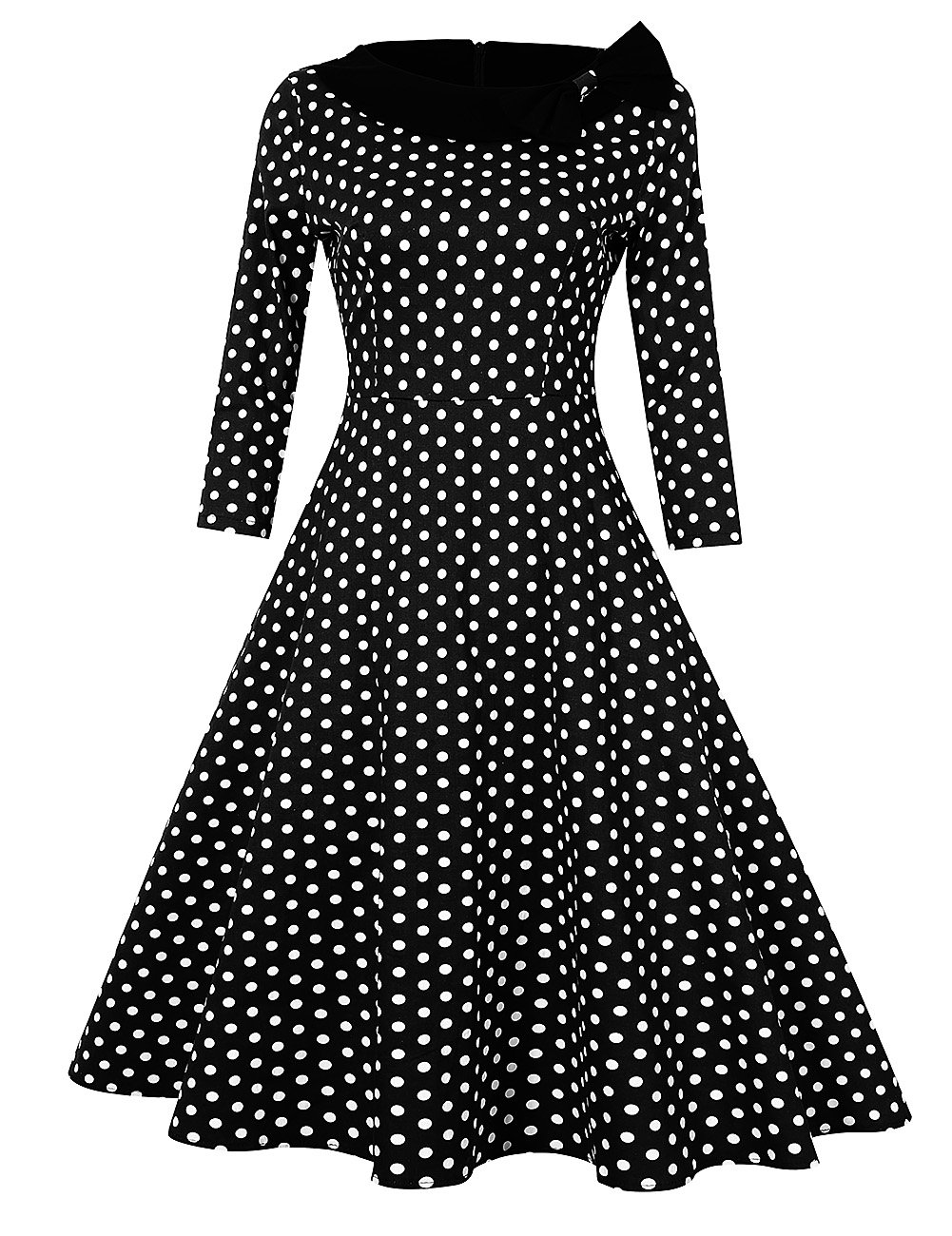 GlorySunshine Women's Vintage Swing Polka Dot Dress 0